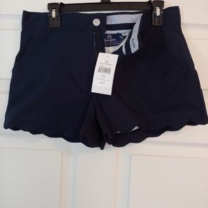 Lauren James Scallop shorts